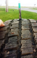 Studded Snow Tires 205/55R16 in Fort Drum, New York