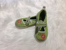 Gymboree Green Shoes sz 7 in Clarksville, Tennessee