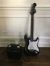 Fender Starcaster Electric guitar and amp in Bolingbrook, Illinois