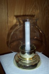 vintage hurricane candle lamp in Conroe, Texas