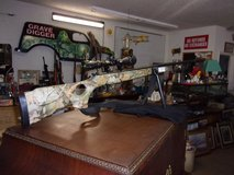 Winchester 22 Cal. Air Rifle With Stand, Strap and Scope in Fort Riley, Kansas