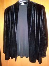 Black velvet cardigan in The Woodlands, Texas
