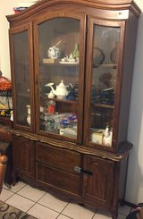 China cabinet in Travis AFB, California
