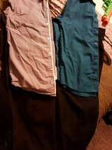 two boys size 7-8 pants & shirts in Perry, Georgia
