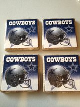Cowboys Coasters set of 4 in Fort Campbell, Kentucky