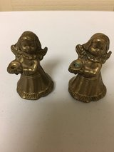 MINI BRASS ANGEL CANDLESTICKS in Oswego, Illinois