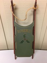 "WOOD ""ROSEBUD"" SLED in Oswego, Illinois"