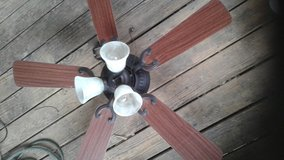 2 ceiling fans with light kits in Fort Campbell, Kentucky