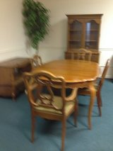 Dining Room Set (Table, 6 Chairs. China Cabinet, Buffet) in Macon, Georgia