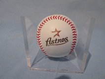 Houston Astros Commemorative Baseball in The Woodlands, Texas