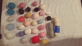 yarn ball lot in Yucca Valley, California