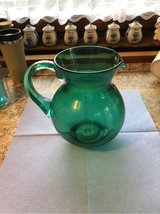 Pitcher - Green plastic in Ramstein, Germany