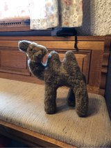 VINTAGE!!!!  Stuffed Camel. approx 12 inches high from Tunisia in Ramstein, Germany