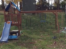 swing set in Fort Campbell, Kentucky