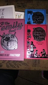 books on things to do with mom,Dad,and family in Yucca Valley, California