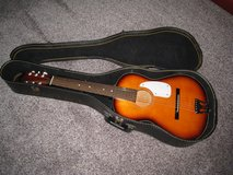 Vintage Acoustic Guitar With Original Chipboard Case in Glendale Heights, Illinois