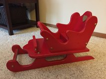 Christmas Wooden Sleigh in Aurora, Illinois