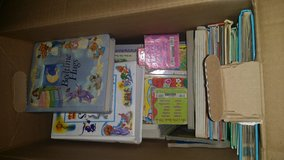 Large box of children's books in Yucca Valley, California
