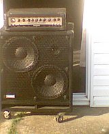 Bass Amp and Speaker Cabinet 450 Watts! in Fort Knox, Kentucky