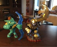 2 Skylander Figures in Plainfield, Illinois