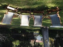Outdoor chairs in Beaufort, South Carolina