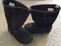 babyGap brown suede boots...size 6 in Oswego, Illinois