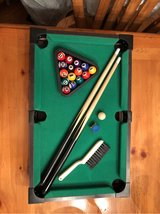 Reduced!~Table Top Pool Table set (miniature)~ in Naperville, Illinois