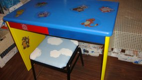 desk, pokemon style for kids in Okinawa, Japan