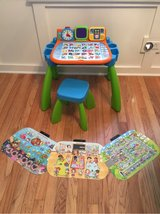 Vtech Touch and Learn Activity Desk in St. Charles, Illinois
