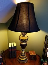 """32"""" Black/Gold Vintage Lamp in Fort Campbell, Kentucky"""