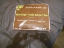 message table sheets 3pc set in Oswego, Illinois