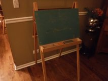 Vintage Wood Children's Chalk Board Art Painting Easel in Bolingbrook, Illinois