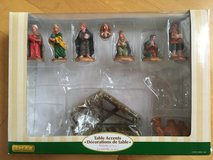 Lemax Table Top Nativity 9 piece set in Naperville, Illinois