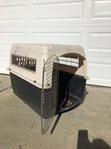Large dog crate in Travis AFB, California