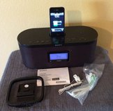 Sony XDR-S10DiP clock radio with iPhone4 charging dock/interface - in original box in Yucca Valley, California