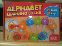 Lakeshore alphabet learning locks in Camp Lejeune, North Carolina