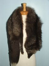 Russian Silver or Blue Fox Fur Stole in Plainfield, Illinois