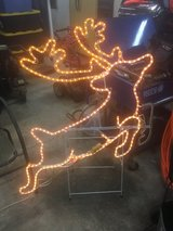 "48"" jumping deer in motion rope light in Leesville, Louisiana"