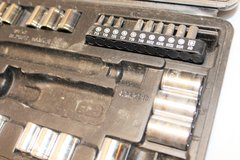 "Ultra Steel Socket Set Mixed Carry Case 1/2"" 1/4"" 3/8"" 6 point Rachet SAE Metric in Kingwood, Texas"