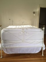 Antique Wraught Iron Bed Full in Fort Lewis, Washington