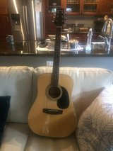 Acoustic guitar and case in Travis AFB, California