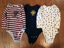 Football long sleeve onsies in Chicago, Illinois