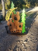 Rustic Wooden bears( Handcrafted ) in Alamogordo, New Mexico