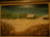 OIL Painting / Landscape in Spring, Texas
