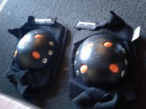 Mongoose knee pads in Yucca Valley, California