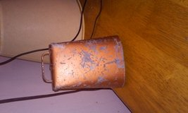 Vintage cow bell in Alamogordo, New Mexico