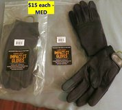 TWO PAIRS NEW CAMELBAK IMPACT CT GLOVES - SIZE MED in Cherry Point, North Carolina