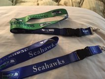 SEATTLE SEAHAWKS LANYARDS - 2 Designs to choose from (New or Old School Logos) ** NEW ** in Tacoma, Washington