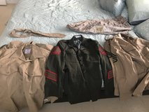 Service Uniforms and Cammie Blouse in Okinawa, Japan