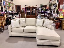 New White L-shape Couch in Okinawa, Japan